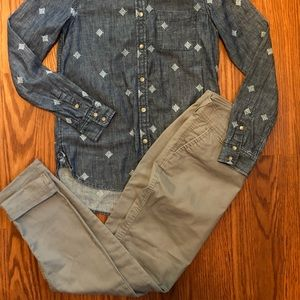 Old Navy Skinny Gray Pants